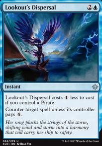 Lookout's Dispersal
