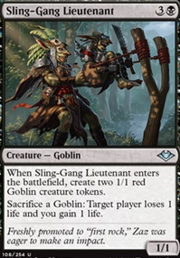 Sling-Gang Lieutenant